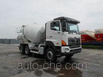 日野牌YC5250GJBFS2PM4型混凝土搅拌运输车