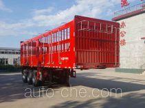 卓运昌牌YCC9376CCY型仓栅式运输半挂车