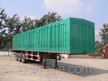 Yuchang YCH9281XXY box body van trailer
