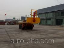 Yuchang flatbed dump trailer
