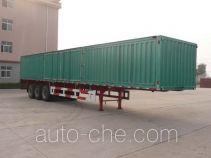 Yuchang YCH9402XXY box body van trailer