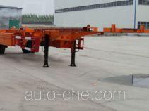 Zhongliang Baohua YDA9150TJZ empty container transport trailer