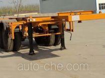 远东汽车牌YDA9350TJZ型集装箱运输半挂车