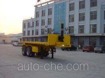 Zhongliang Baohua YDA9350ZZXP flatbed dump trailer