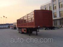 远东汽车牌YDA9370CCY型仓栅式运输半挂车