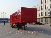 远东汽车牌YDA9371CCY型仓栅式运输半挂车