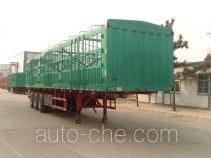 远东汽车牌YDA9400CCY型仓栅式运输半挂车
