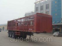 远东汽车牌YDA9400CCYA型仓栅式运输半挂车