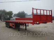 远东汽车牌YDA9400TPB型平板运输半挂车