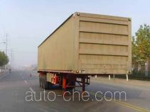 Yuandong Auto YDA9400XXY box body van trailer