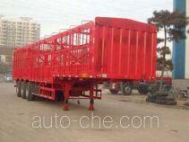 远东汽车牌YDA9401CCY型仓栅式运输半挂车