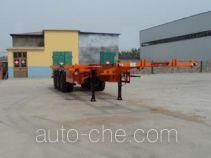 Zhongliang Baohua YDA9400TWY dangerous goods tank container skeletal trailer