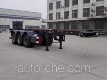Yuandong Auto YDA9401TWY dangerous goods tank container skeletal trailer