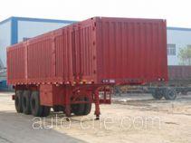 远东汽车牌YDA9401XXY型厢式运输半挂车