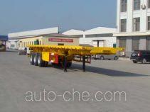 Yuandong Auto YDA9403ZZXP flatbed dump trailer