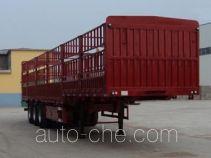 远东汽车牌YDA9404CCY型仓栅式运输半挂车