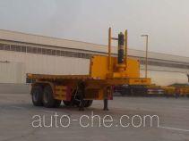 Yunxiang YDX9350ZZXP flatbed dump trailer