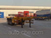 郓翔牌YDX9400TJZ型集装箱运输半挂车