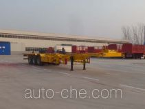 郓翔牌YDX9400TJZE型集装箱运输半挂车