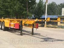 Yunxiang YDX9400TWY dangerous goods tank container skeletal trailer