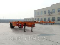 Linzhou YDZ9150TJZ empty container transport trailer
