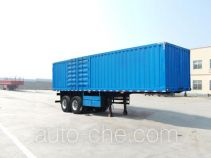 Linzhou YDZ9350XXY box body van trailer