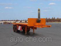 Linzhou YDZ9350ZZXP flatbed dump trailer