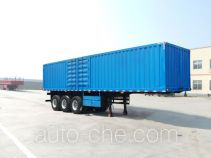 Linzhou YDZ9400XXY box body van trailer