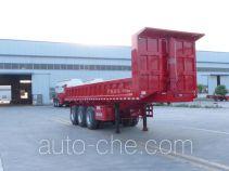 麟州牌YDZ9400Z型自卸半挂车