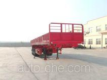 麟州牌YDZ9401ZZX型自卸半挂车