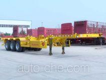 Linzhou YDZ9401TWY dangerous goods tank container skeletal trailer