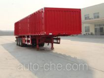 Linzhou YDZ9401XXY box body van trailer