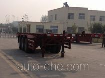 Linzhou YDZ9402TWY dangerous goods tank container skeletal trailer