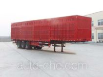 Linzhou YDZ9404XXY box body van trailer