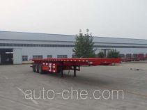 Linzhou YDZ9403ZZXP flatbed dump trailer