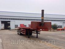 Linzhou YDZ9405ZZXP flatbed dump trailer