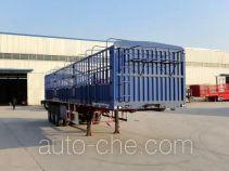 鲁郓万通牌YFW9400CCYZL型仓栅式运输半挂车