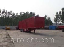 Luyun Wantong YFW9400XXY box body van trailer