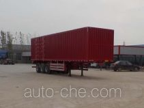 Luyun Wantong YFW9403XXY box body van trailer