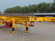 Lufei empty container transport trailer