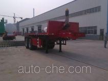 Lufei YFZ9350ZZXP flatbed dump trailer