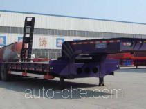 路飞牌YFZ9355TDP型低平板半挂车