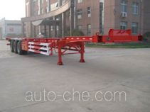 Lufei container transport skeletal trailer
