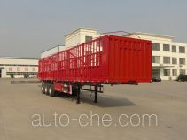 建宇牌YFZ9402CCY型仓栅式运输半挂车