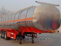 中运牌YFZ9400GRH型润滑油罐式运输半挂车