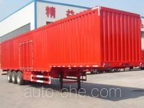 Lufei YFZ9402XXY box body van trailer
