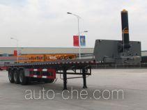 路飞牌YFZ9403ZZXP型平板自卸半挂车