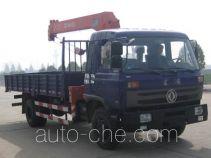 神鹰牌YG5168JSQZZ3G型随车起重运输车