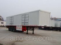 Shenying YG9320XXY box body van trailer