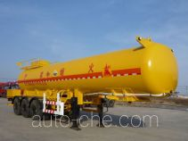 神行牌YGB9390GHY型化工液体运输半挂车